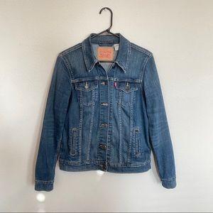 Levi's Ex-Boyfriend Trucker Denim Jacket Size M